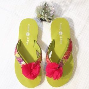 Lindsay Phillips SwitchFlops with 11 Straps NWOT